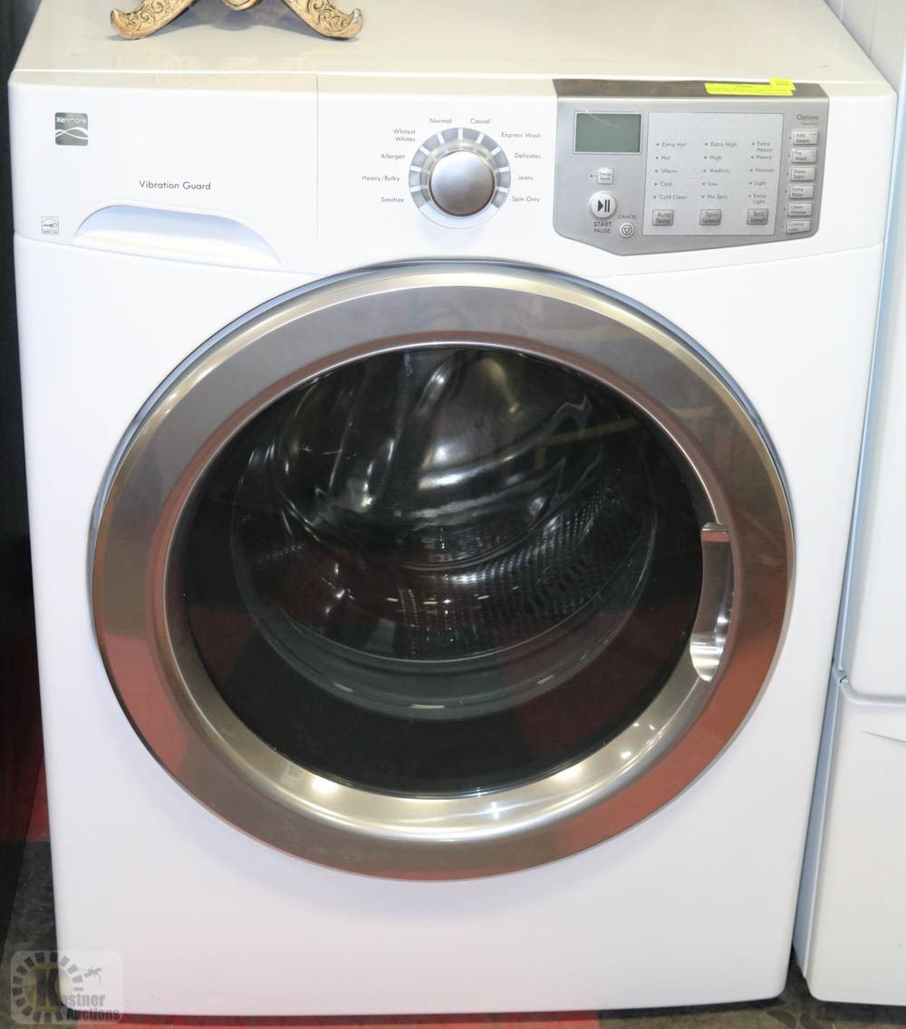 kenmore front load washer. Image 1 : KENMORE FRONT LOADER WASHER WITH VIBRATION GUARD Kenmore Front Load Washer