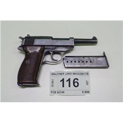 WALTHER , MODEL: P38 AC44 , CALIBER: 9 MM
