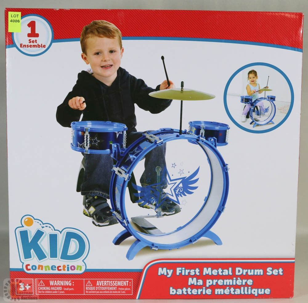 New Kid Connection My First Metal Drum Set