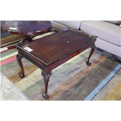 BALL AND CLAW FOOT COFFEE TABLE