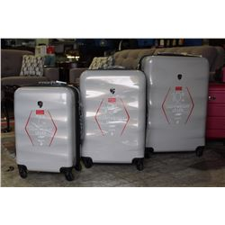 3 PIECE LIGHTWEIGHT HEYS LUGGAGE SET - BRAND NEW