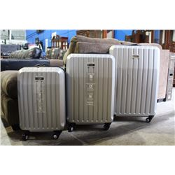 3 PIECE KENNETH COLE REACTION LUGGAGE SET - BRAND NEW