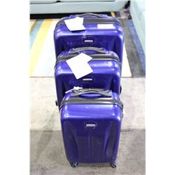 3 PIECE SAMSONITE LUGGAGE SET - BRAND NEW