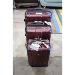 3 PIECE SWISS GEAR LUGGAGE SET - BRAND NEW