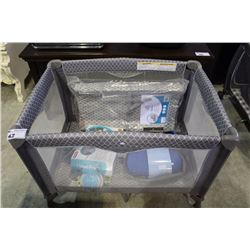 KIDIWAY BABY PRODUCTS PLAYPEN WITH BABY RELATED CONTENTS