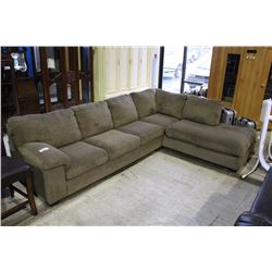 UPHOLSTERED SECTIONAL SOFA SET