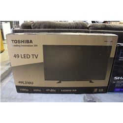 "TOSHIBA 49"" LED TV"