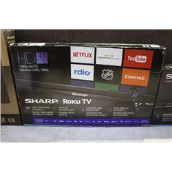 "SHARP HD 43"" SMART TV"