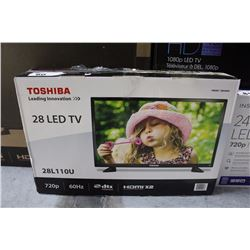 "TOSHIBA 28"" LED TV"