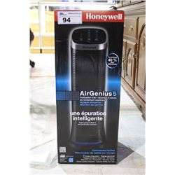 HONEYWELL AIR GENIUS 5 SUPERIOR PERFORMANCE AIR CLEANER WITH ALLERGEN AND GERM REDUCTION SETTINGS