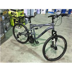 WICKED 21 SPEED FULL SUSPENSION MOUNTAIN BIKE  WITH DISC BRAKES