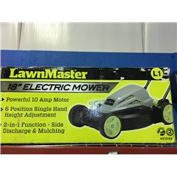 "LAWN MASTER 18"" ELECTRIC MOWER"