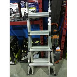 WORLDS GREATEST MULTI USE ALUMINUM LADDER SYSTEM