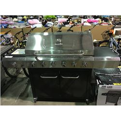 CHAR-BROIL STAINLESS STEEL 6 BURNER GRILL