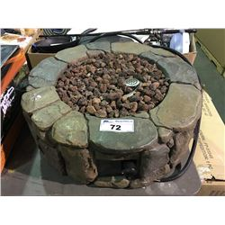 OUT DOOR GAS FIRE PIT