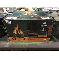 OUTLAND FIRE BOWL GAS FIRE PIT