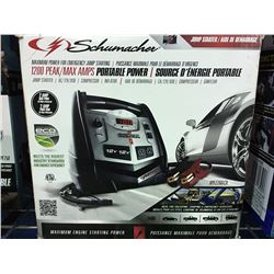 SCHUMACHER PORTABLE PACK JUMP STARTER