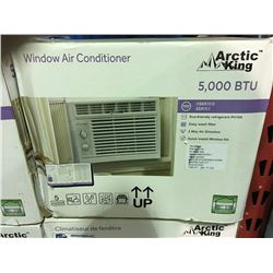 ARTIC KING 5,000 BTU WINDOW MOUNT AIR CONDITIONER