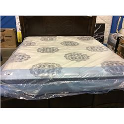 KING SIZED SERTA PERFECT SLEEPER MATTRESS & BOX SPRING SET