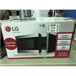 LG STAINLESS STEEL FRONT MICROWAVE OVEN