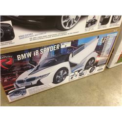 WHITE BMW CHILDREN'S ELECTRIC CAR