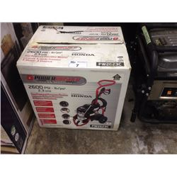 HONDA GAS POWERED PRESSURE  WASHER 2600PSI PW2623C