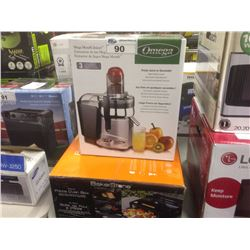OMEGA JUICER AND PIZZA OVEN