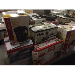 LOT OF HOUSEHOLD ITEMS INCLUDING  KEURIG, ICE CREAM MAKER, ETC.