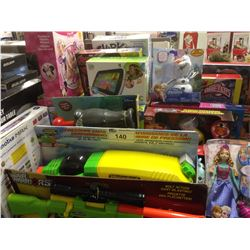 LOT OF TOYS INCLUDING VTECH, AIR HOGS, ETC.