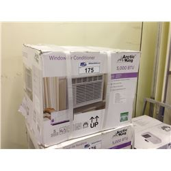 ARCTIC KING WINDOW AIR CONDITIONER 5000 BTU