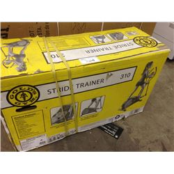 "GOLDS GYM STRIDE TRAINER14"" STRIDE LENGTH, 10 DIGITAL RESISTANCE LEVELS"