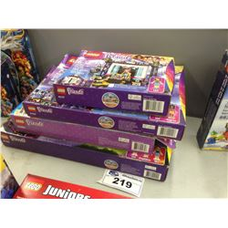 LEGO FRIENDS POP STAR TV STUDIO 41117, POP STAR SHOW STAGE 41105, HEARTLAKE LIGHTHOUSE 41094, POP ST