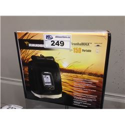 HUMMINBIRD PIRANHAMAX 150 PORTABLE FISH FINDER