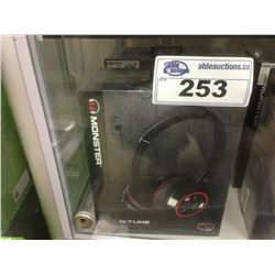 2 MONSTER N-TUNE HEADSETS