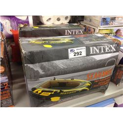 LOT OF 2 INTEX SEAHAWK 2  TWO PERSON BOATS