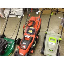 "BLACK AND DECKER 15"" LAWNMOWER 10AMPS"