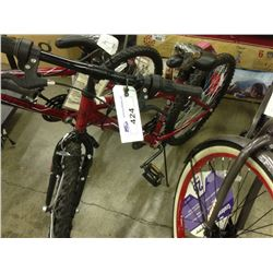 HUFFY GRANITE RED 18 SPD STEEL ALL TERRAIN BIKE