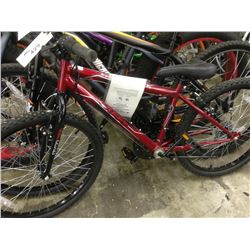 RED HUFFY GRANITE 18 SPEED MOUNTAIN BIKE