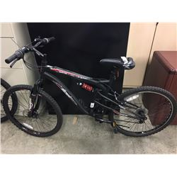 GREY WICKED FUGITIVE 21 SPEED FULL SUSPENSION MOUNTAIN BIKE
