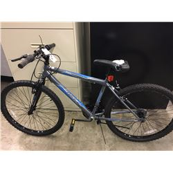 GREY HUFFY GRANITE 18 SPEED MOUNTAIN BIKE - DAMAGE