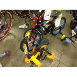 2 HUFFY CHILDRENS BIKES