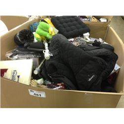 BIN OF ASSORTED DEPARTMENT STORE RETURN PRODUCT