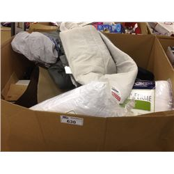 BIN OF ASSORTED STORE RETURN PRODUCT