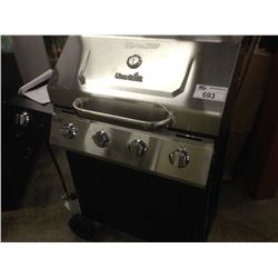 LOT OF 3  BARBEQUES, 2 BACKYARD GRILLS AND 1 CHAR BROIL