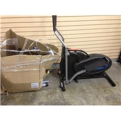 GOLDS GYM CYCLE TRAINER & 2 BIKE CARRIERS AND A EVERLAST PUNCHING BAG