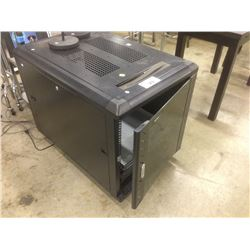 MOBILE SERVER RACK WITH HP 4 DRIVE SERVER