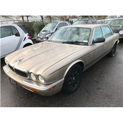 2003 JAGUAR XJ8, 4 DOOR SEDAN, BROWN, VIN # SAJDA14C73LF56497