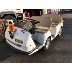 EZ GO MODEL SHTL 956E ELECTRIC CART