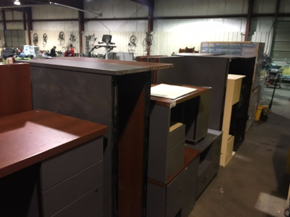 Large Lot Of Assorted Office Furniture Able Auctions