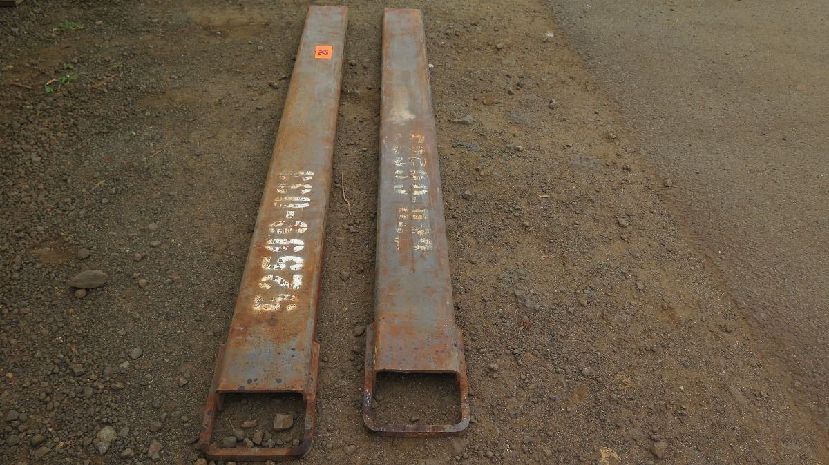 Fork Lift Foot : Pair forklift fork extensions foot